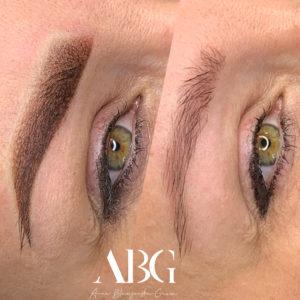 makijaż permanentny - brwi